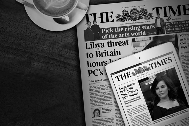The Times and Sunday Times become profitable for first time in 13 years