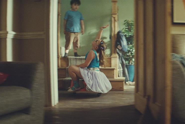 John Lewis Insurance: 'Tiny dancer' by Adam & Eve/DDB