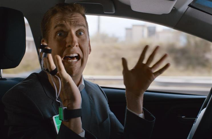 Toyota's 'who's driving' ad in 2014 was created by Saatchi & Saatchi