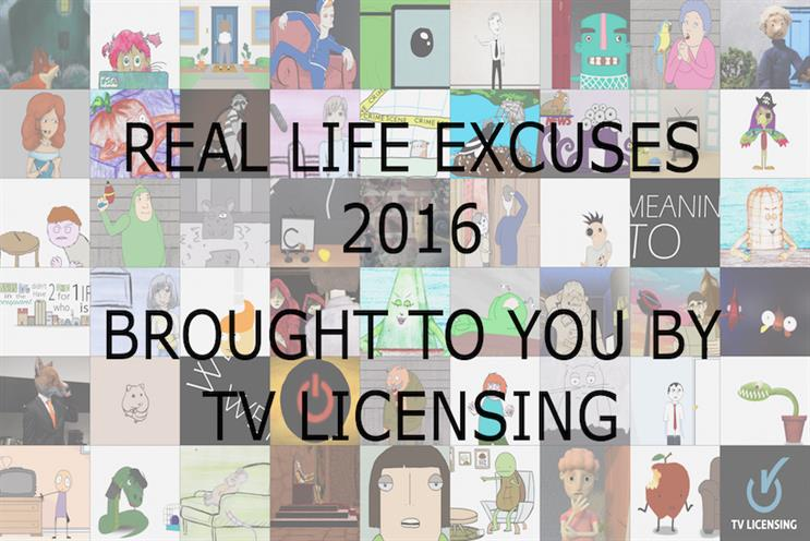TV Licensing: it ran a competition for animation students
