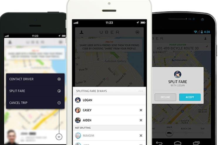 Uber: comes under fire in France