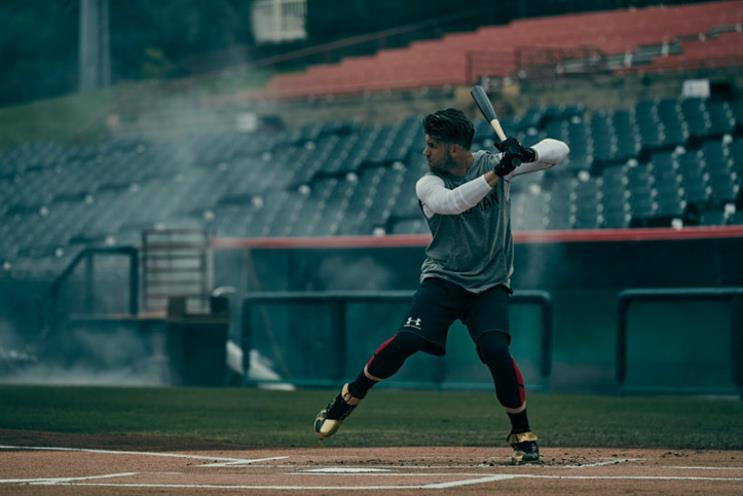 Under Armour: the brand's global campaign 'It comes from below'