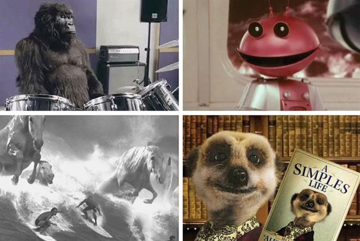 Which ad gets your vote? Are you backing gorillias, horses, martians, meerkats or something completely different?