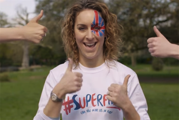 Amy Williams won Team GB's only medal at Vancouver 2010: gold in skeleton