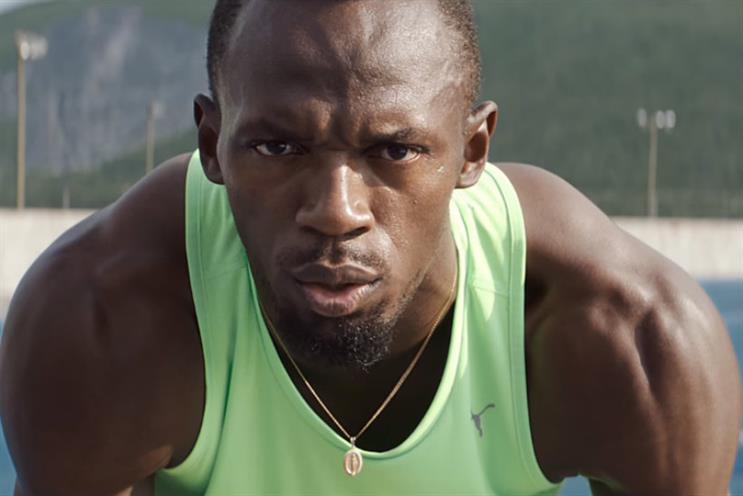 Usain Bolt: the launch face of new brand Enertor