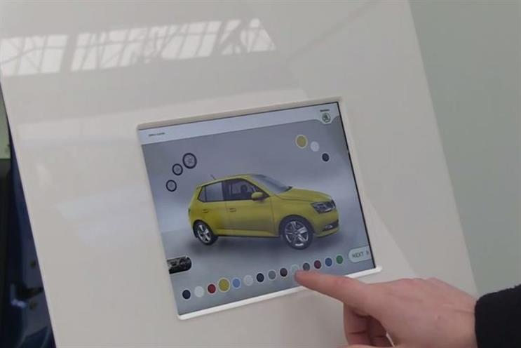 Skoda: outdoor campaign uses augmented reality