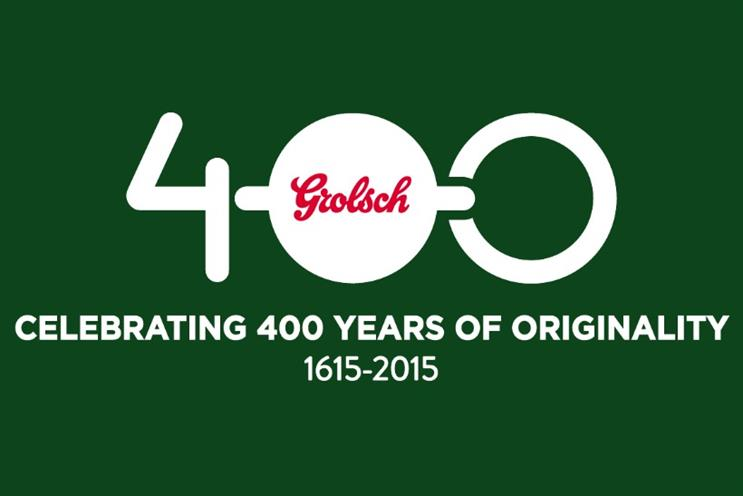 Grolsch: kicking off 400th anniversary campaign