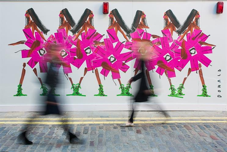 Covent Garden: Instagram illustrator has been commissioned to create five pieces of artwork