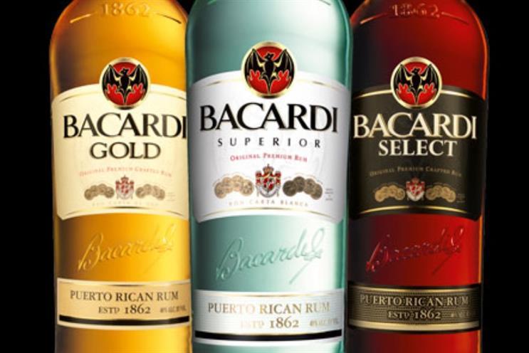 Bacardi: has implemented 'radical' marketing shake-up