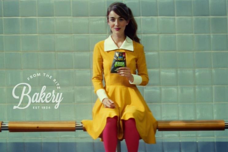 Mondelez: ploughing £10m into launch marketing of new Ritz Crisp and Thin
