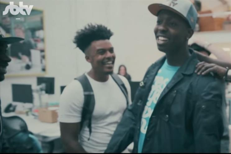 SBTV: Jamal, Pepstar and P.A.P create music track using sounds from Jamie Oliver's kitchen