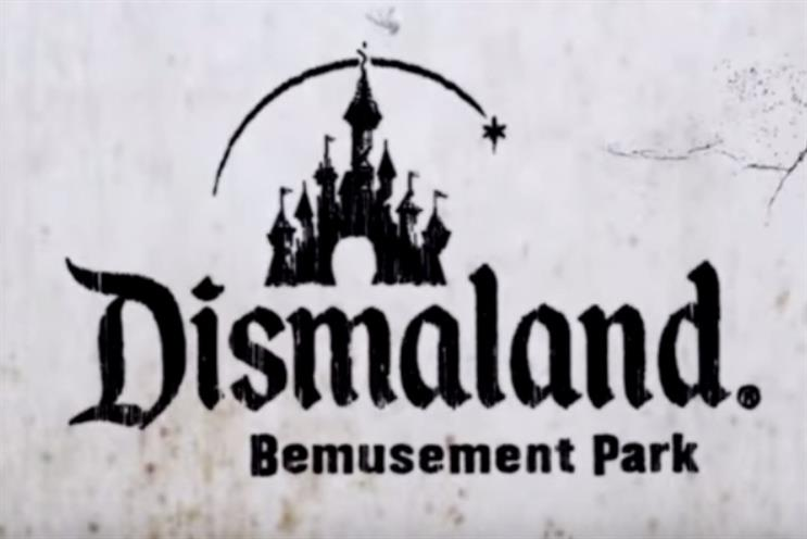 Banksy: theme park re-imagined as a hellish dystopia