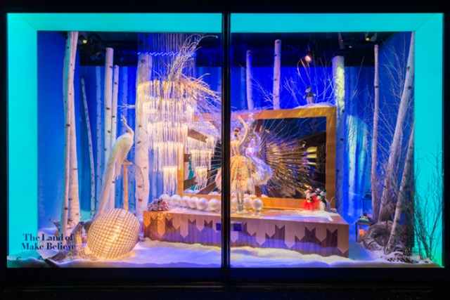Harrods: kicked off its Christmas campaign with festive window displays and an animated film