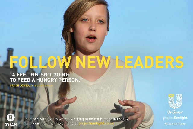 Unilever: ad features 'inspiring' speech by 15-year-old Grace from Croydon
