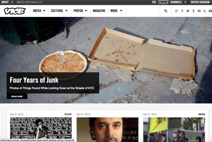 Vice UK: staff in for a windfall