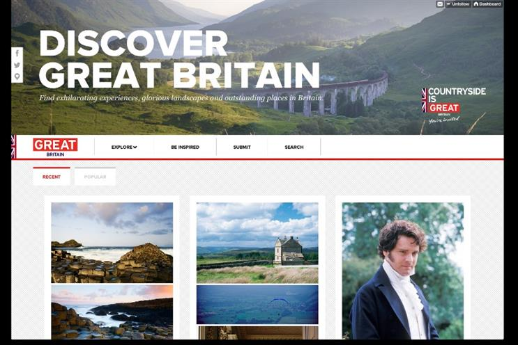 VisitBritain: using Tumblr to reach the visual generation