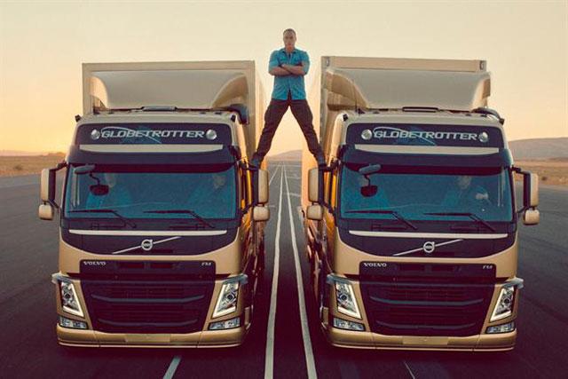 Volvo: 'epic split' starring Jean-Claude Van Damme