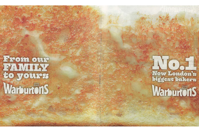 Warburtons: rapped by the ASA over the claims made in a national press ad