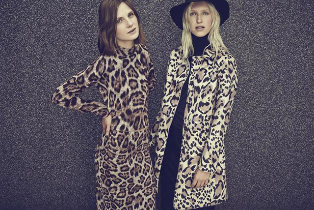 Warehouse: an image from the fashion retailer's autumn/winter 2014 campaign