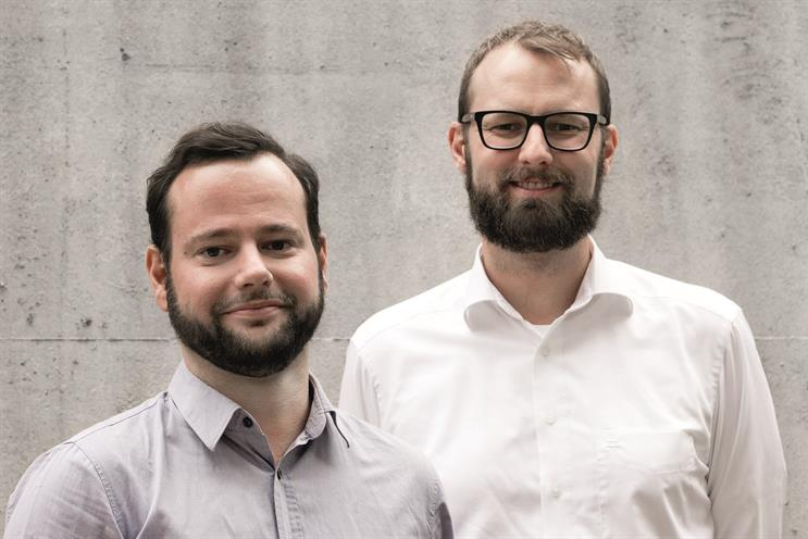 We Are Social: Christopher Schmidt (left) and Bastian Scherbeck