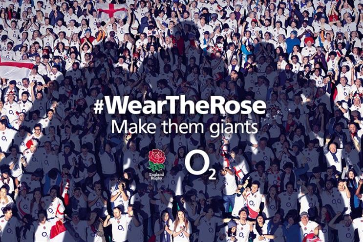 O2: the 'Wear the Rose' campaign to build support for England Rugby