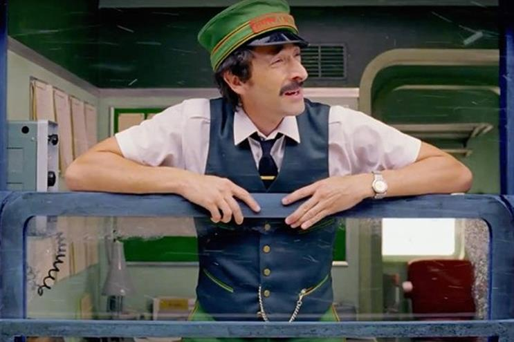 Adrien Brody: stars in Wes Anderson's film for H&M