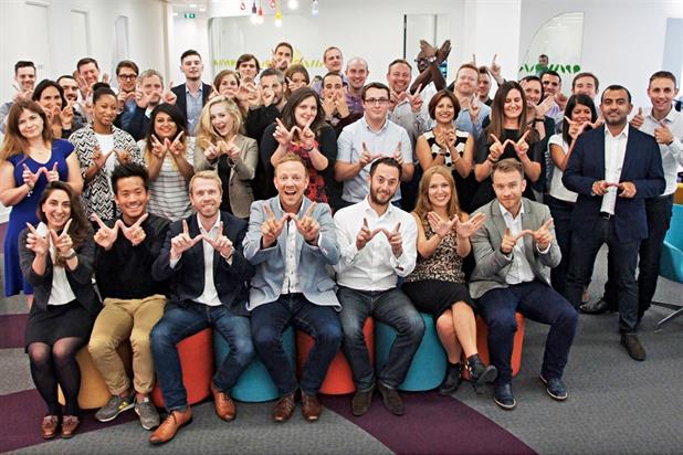 Weve: named Digital Sales Team of the Year in 2014