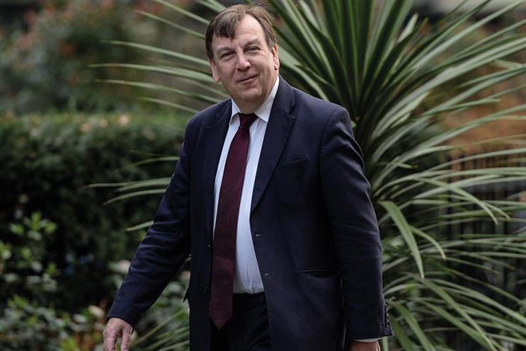 John Whittingdale: wished his successor well