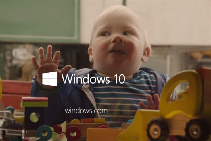 Microsoft: the latest ad campaign for Windows 10