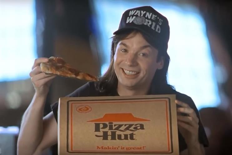 Wayne's World's famous satirical jibe at product placement isn't often far off from the truth
