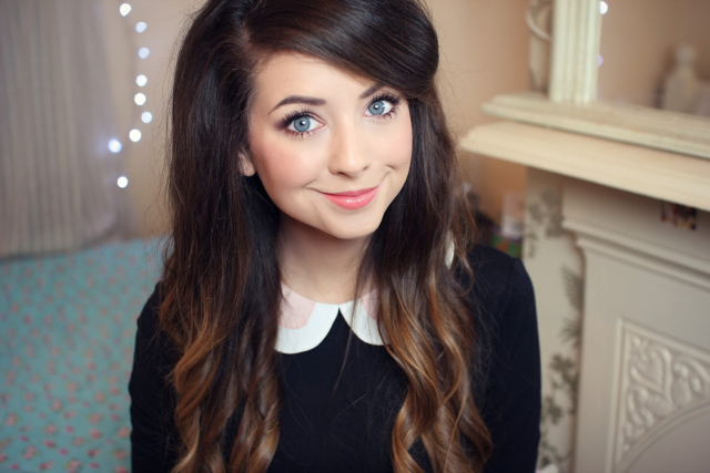 Zoella: makes Debrett's list of the most influential people in the UK