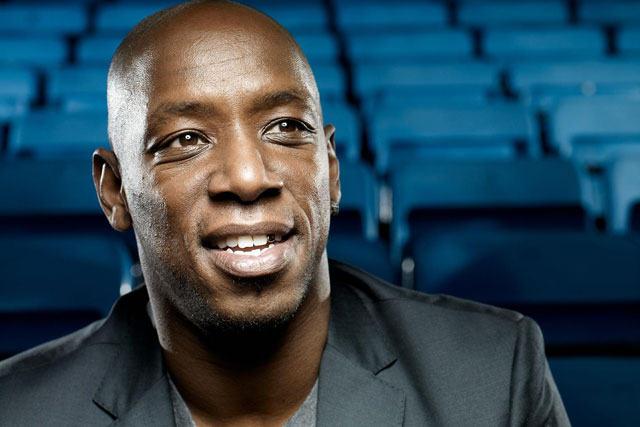 Ian Wright: former Arsenal player teams up with Robbie Savage, below, for BT Sport