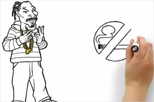 Air NZ: safety cartoon featuring Snoop Dogg