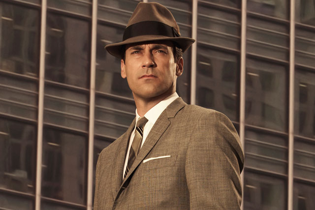 Every girl crazy 'bout a sharp-dressed man: John Hamm as Don Draper