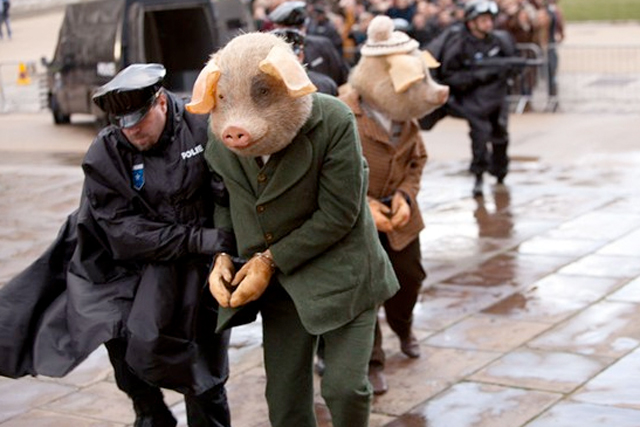 The Guardian: 'three little pigs' campaign