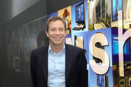 Simon Sugar, founder and chief executive, Amscreen