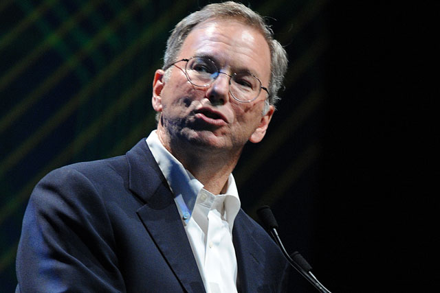 Eric Schmidt: 'internet is fundamental to the future of TV'