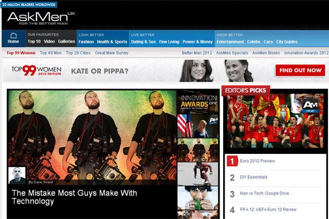 AskMen: Chevrolet Volt to sponsor website's first Innovation Awards