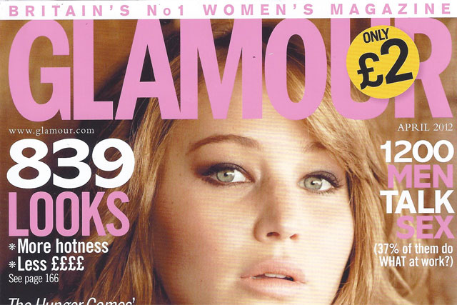 Glamour: retains its premier position in the women's lifestyle sector