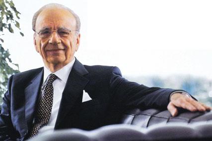 Rupert Murdoch: News Corporation chairman and chief executive