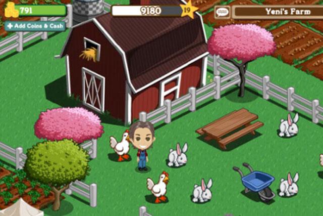 FarmVille: Zynga game