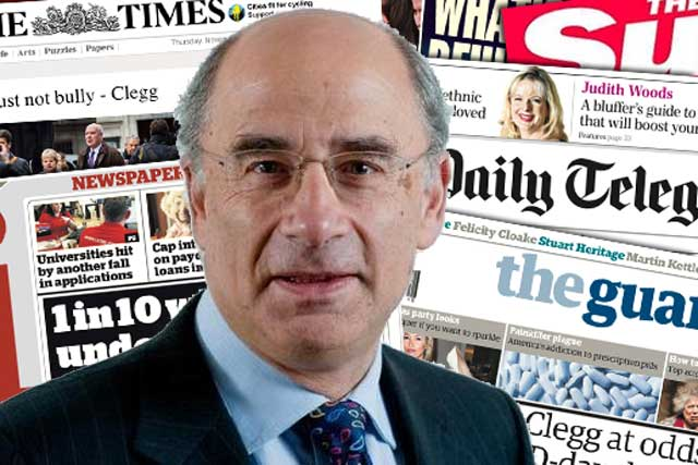 Leveson: 'I am proposing regulation organised by the press itself with a statutory process to support press freedom'