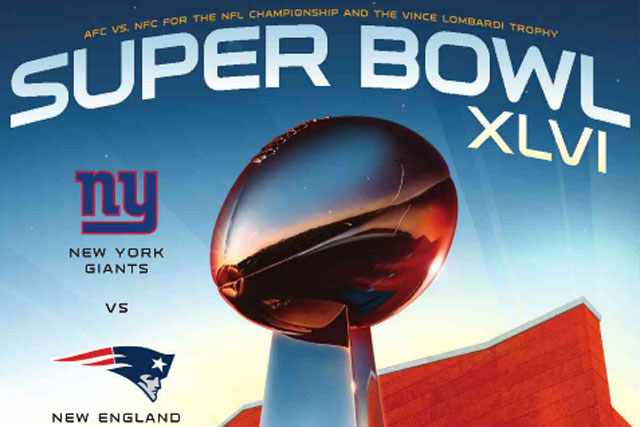 The Super Bowl: attracts record-high viewing figures
