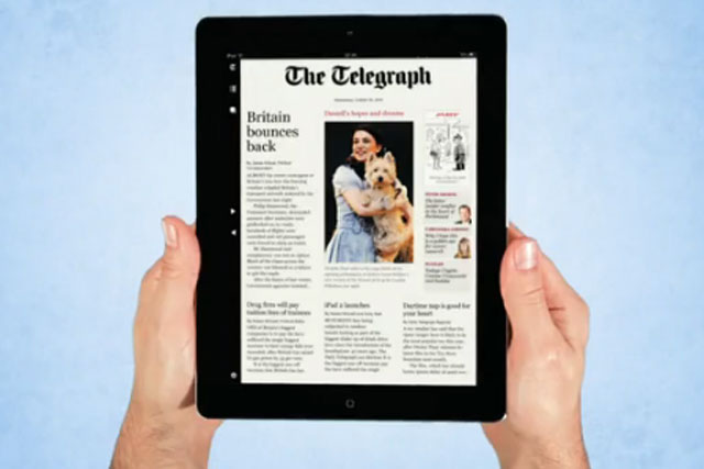 The Telegraph: overhauls digital team