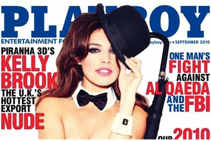 Kelly Brook: Playboy's September cover star