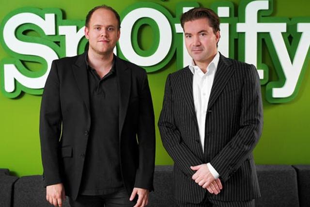 Daniel Ek and Martin Lorentzon: Spotify founders