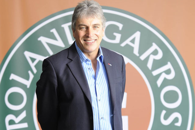 John Inverdale: will front ITV's live coverage of the French Open