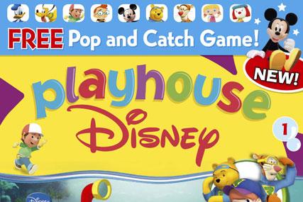 Egmont launches new Playhouse Disney magazine