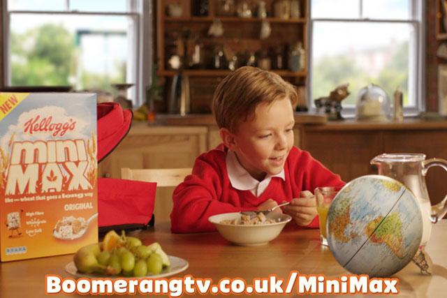 Kellogg's: Mini Max brand to sponsor children's programming on the Boomerang channel