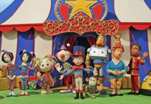 Toby's Travelling Circus: produced by Komixx Entertainment